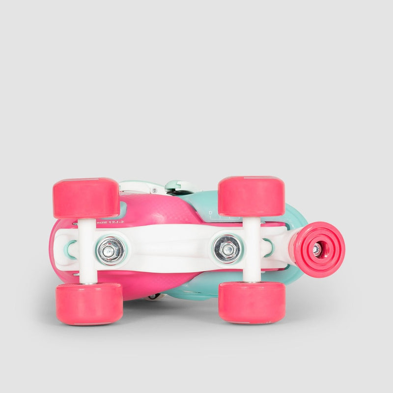 SFR Hurricane-2 Adjustable Quads Pink/Blue - Kids - Skates