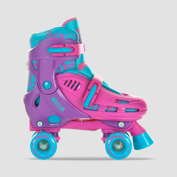 SFR Hurricane Adjustable Quads Pink - Kids - Skates