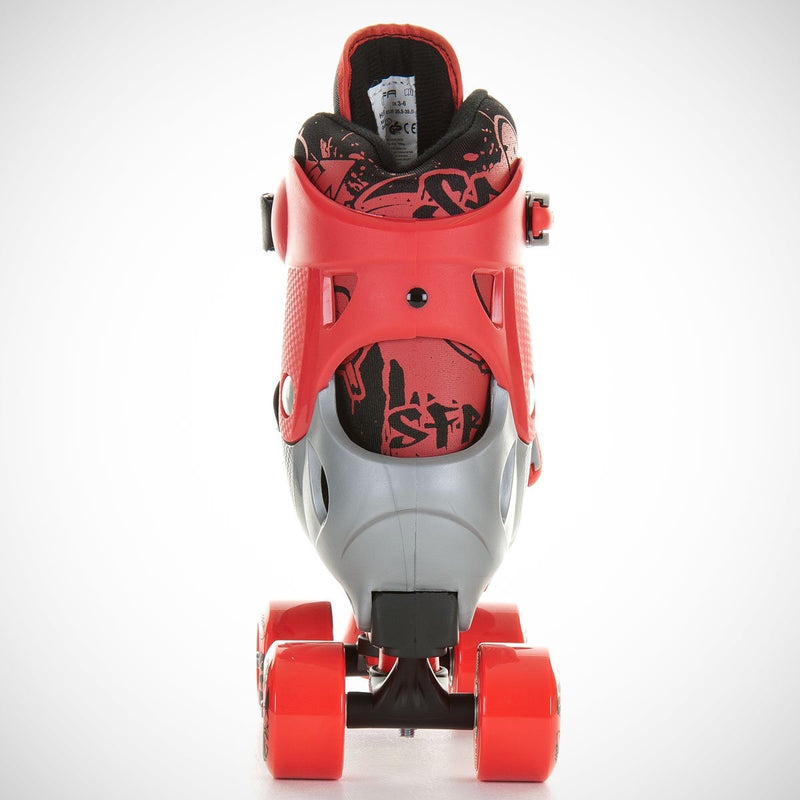 SFR Hurricane Adjustable Quads Red - Kids - Skates