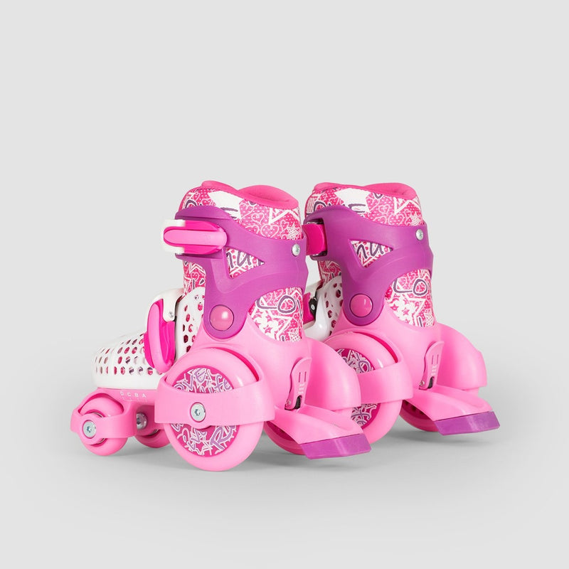 SFR Stomper Adjustable Girls Quads Pink - Kids - Skates
