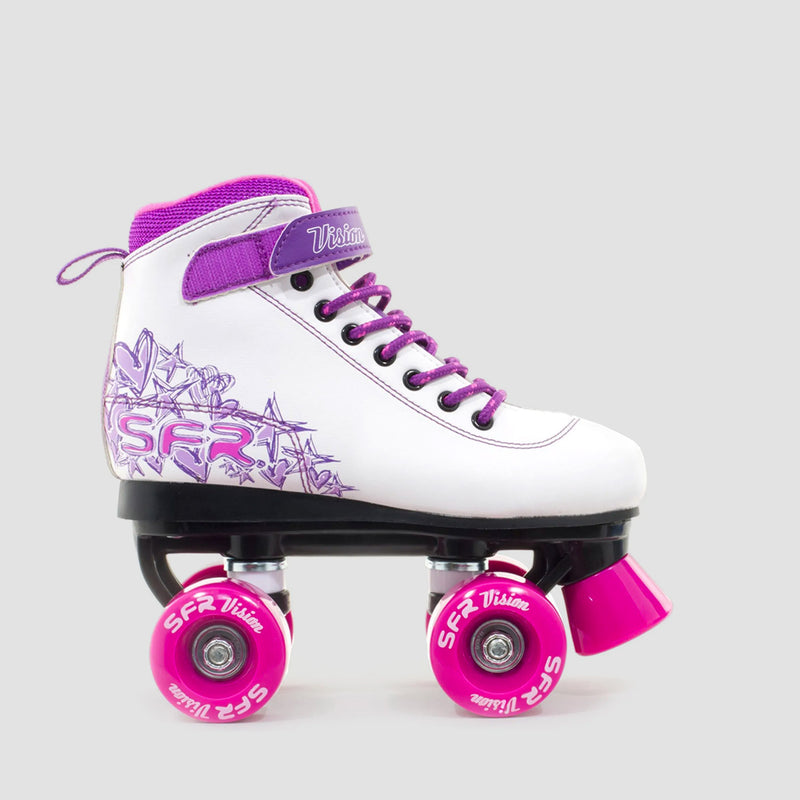 SFR Vision II Quad Skates Purple - Kids