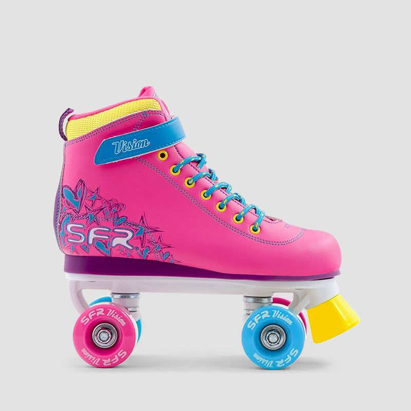SFR Vision II Quad Skates Tropical - Kids