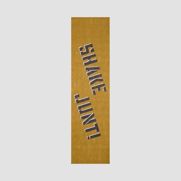 Shake Junt OG Spray Griptape Sheet Gold/Black - 9 - Skateboard