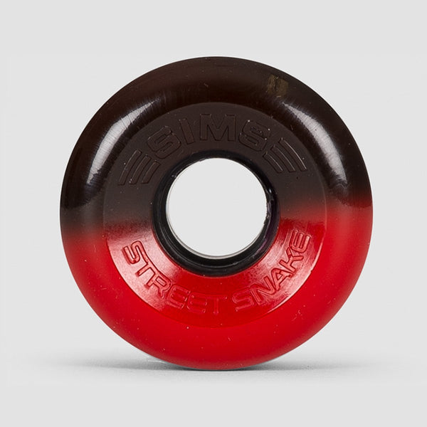 Sims Street Snakes 2Tone 78a Quad Wheels Black/Red 62mm - Skates