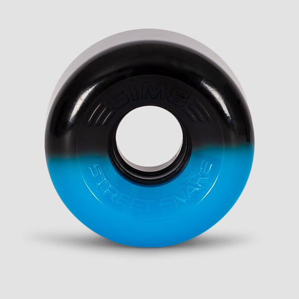Sims Street Snakes 2Tone 78a Quad Wheels x4 Blue/Black 62mm
