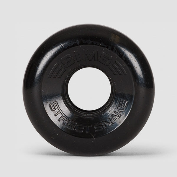 Sims Street Snakes 78a Quad Wheels Black 62mm - Skates