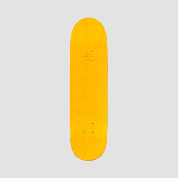 Skateboard Cafe 45 Deck Green/Yellow - 8.25""