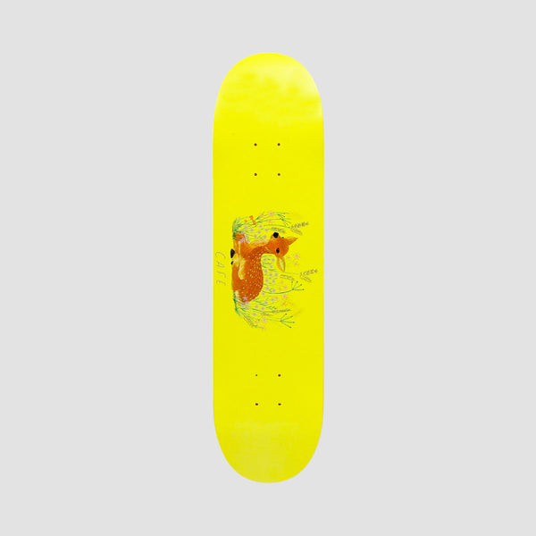 Skateboard Cafe Doe Deck Banana Yellow - 8.25""