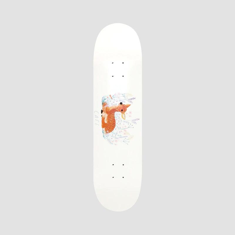 Skateboard Cafe Doe Deck White - 8.25""