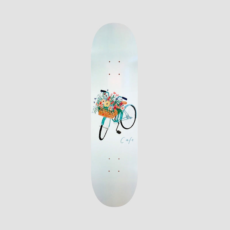 Skateboard Cafe Flower Basket Deck Grey - 8""