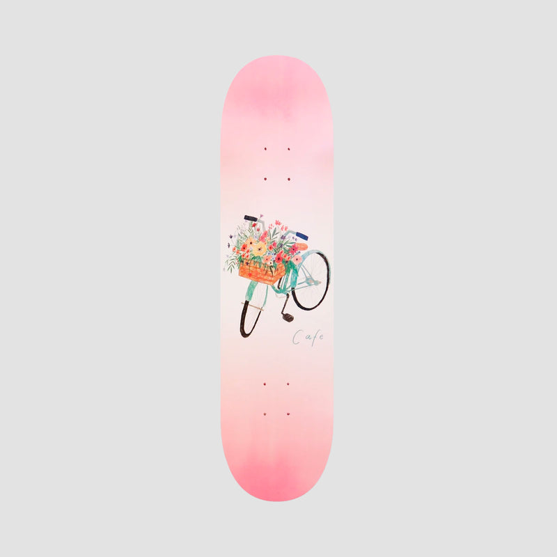 Skateboard Cafe Flower Basket Deck Pink - 8""
