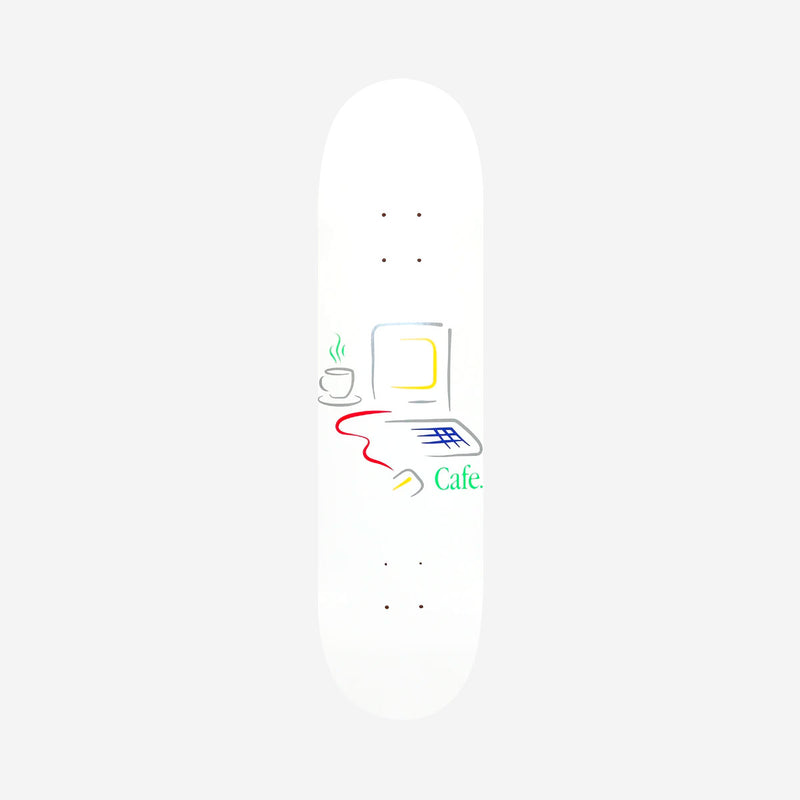 Skateboard Cafe Gerald Deck White - 8.5""