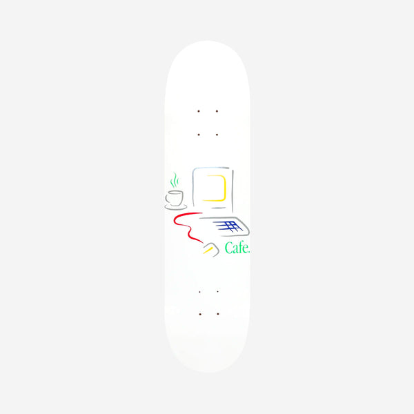 Skateboard Cafe Gerald Deck White - 8.25""