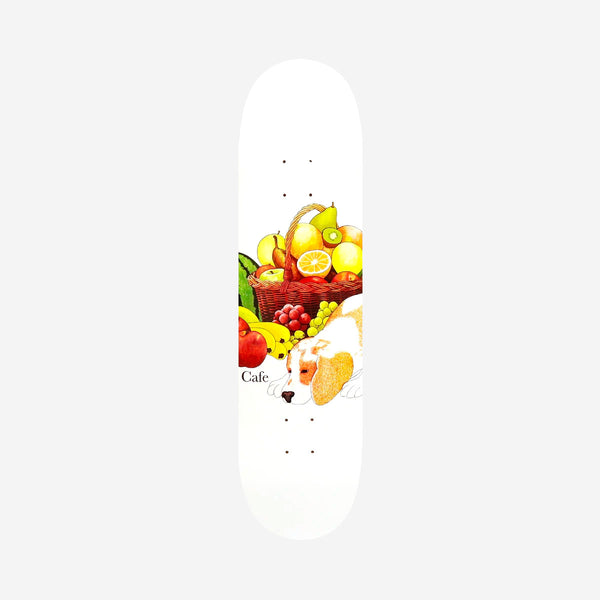 Skateboard Cafe Healthy Deck White - 8.5""