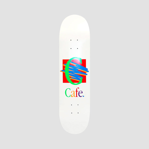 Skateboard Cafe Ronald Deck White - 8.375""