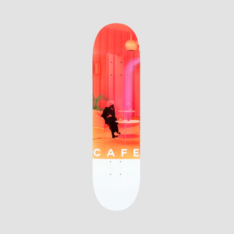 Skateboard Cafe Unexpected Beauty Deck Pink - 8.125""