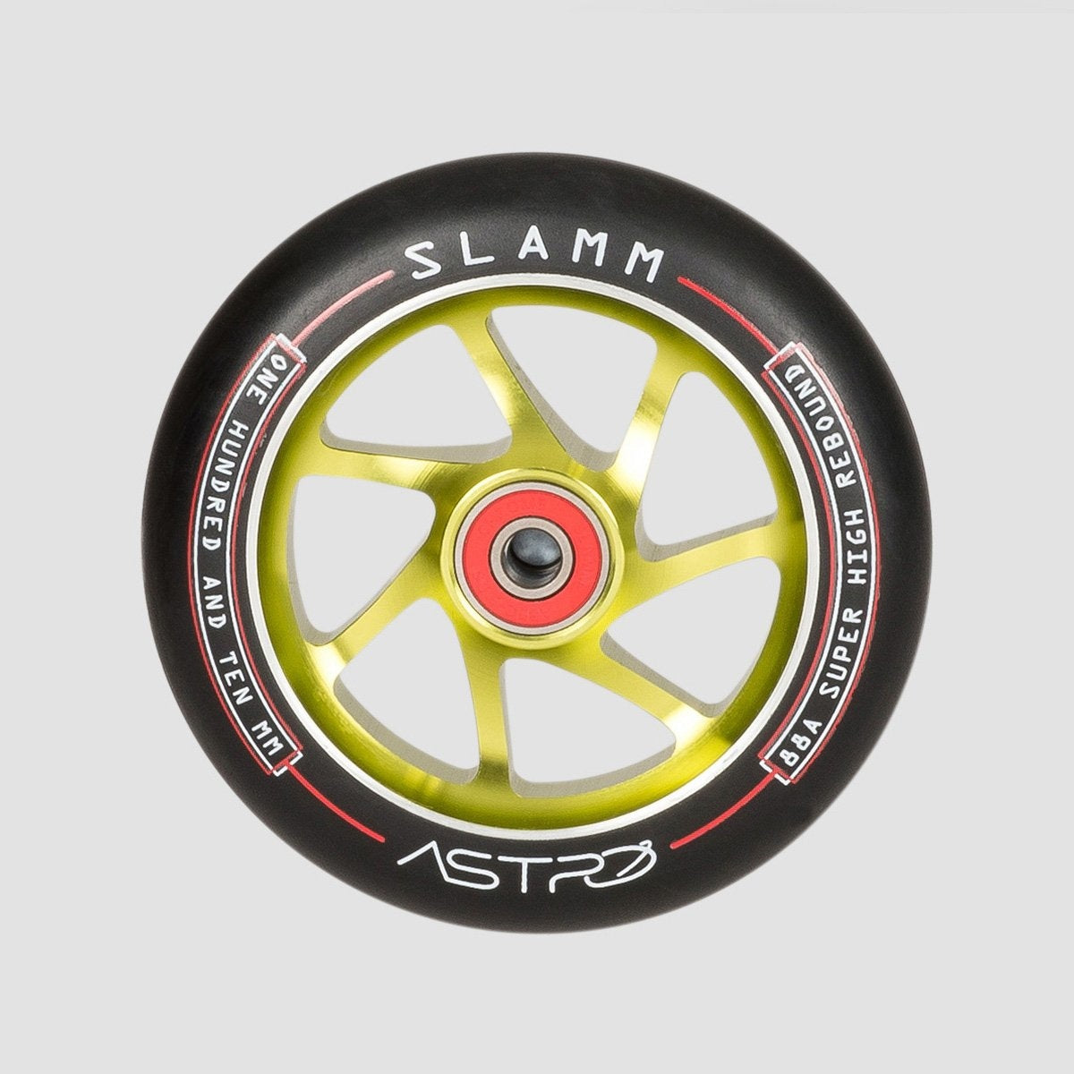 Slamm Astro Scooter Wheel x1 Green 110mm - Scooter