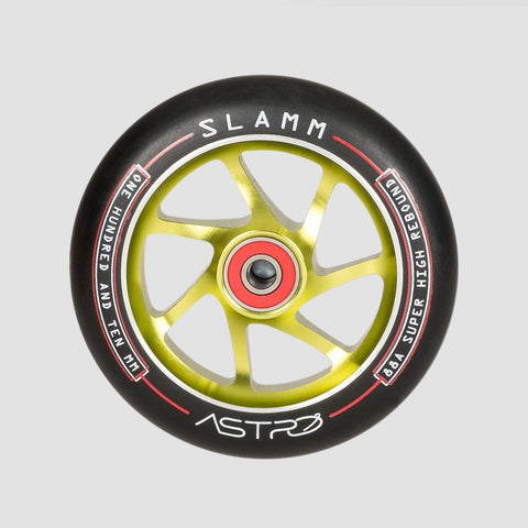 Slamm Astro Scooter Wheel x1 Green 110mm