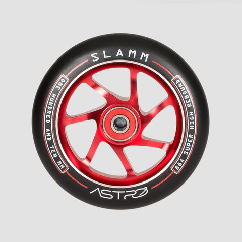 Slamm Astro Scooter Wheel x1 Red 110mm