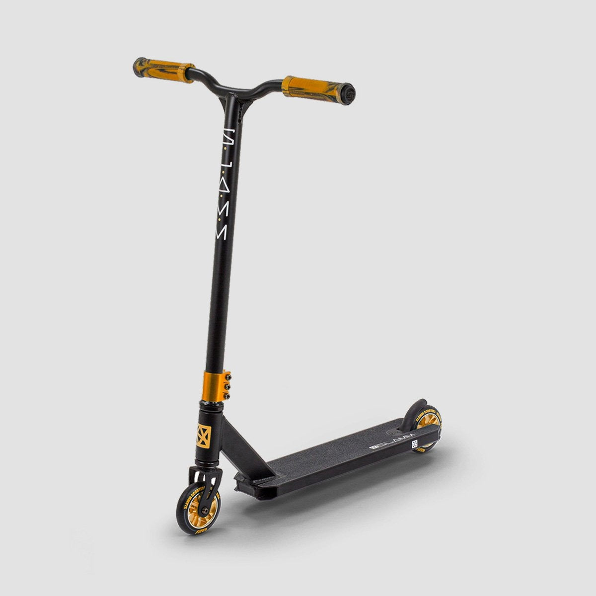Slamm Classic VII Scooter Black/Gold - Scooter