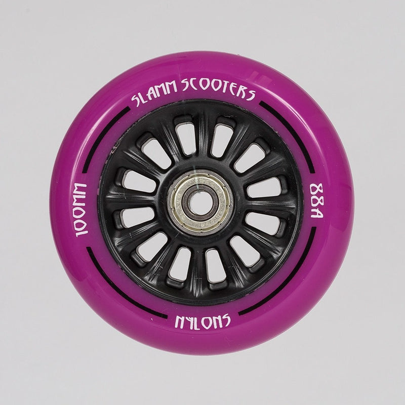 Slamm NY Core Scooter Wheel X1 Purple 100mm - Scooter