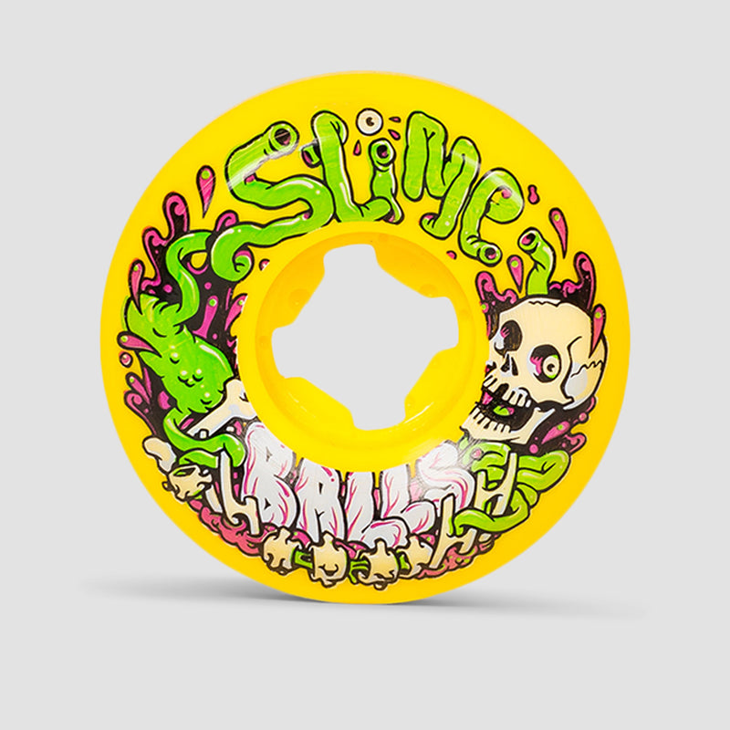Slime Balls Guts Speed Balls 99A Wheels Yellow 53mm