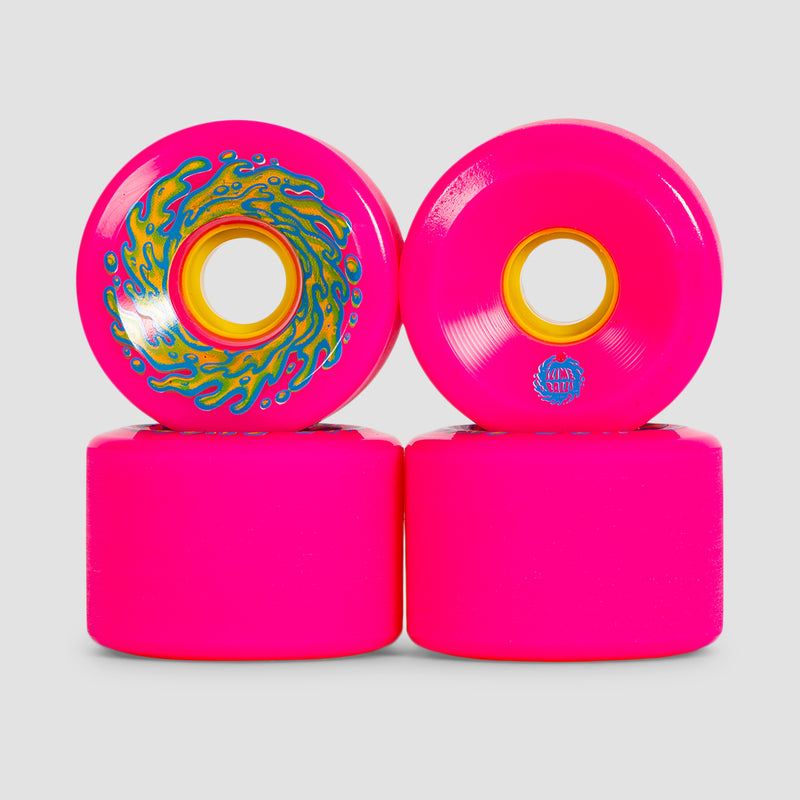 Slime Balls OG Slime 78a Wheels Pink/Yellow 66mm