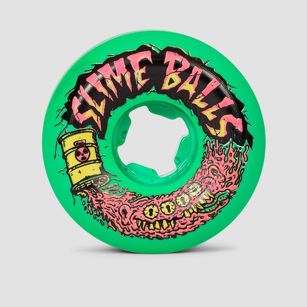Slime Balls Toxic Terror Speed Balls 99a Wheels Teal 56mm