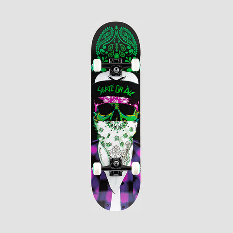 Speed Demons Mob Pre-Built Complete Purple/Green - 8.25""