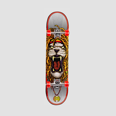 Speed Demons Zion Pre-Built Complete Red/White - 7.5""