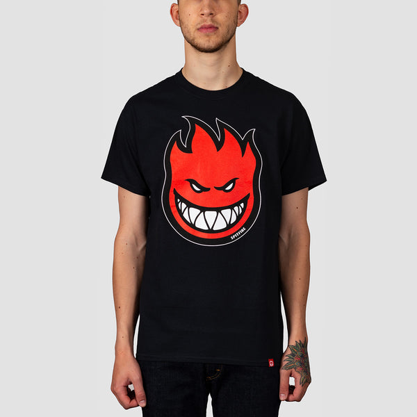 Spitfire Bighead Fill Tee Black/Red Print