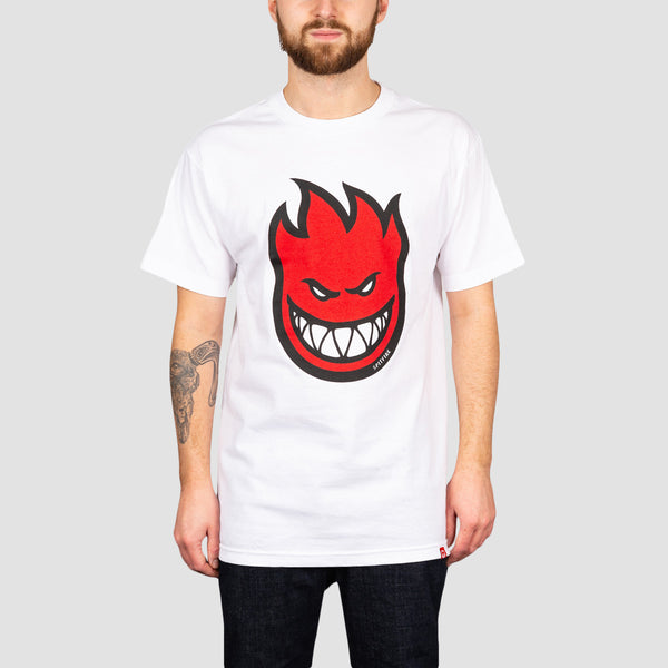 Spitfire Bighead Fill Tee White/Red