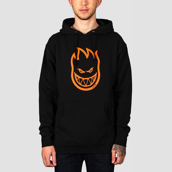 Spitfire Bighead Pullover Hood Black/Orange