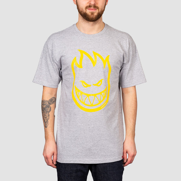 Spitfire Bighead Tee Athletic Heather/Yellow