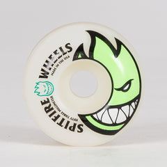 Spitfire Bighead Wheels White/Green 53mm - Skateboard