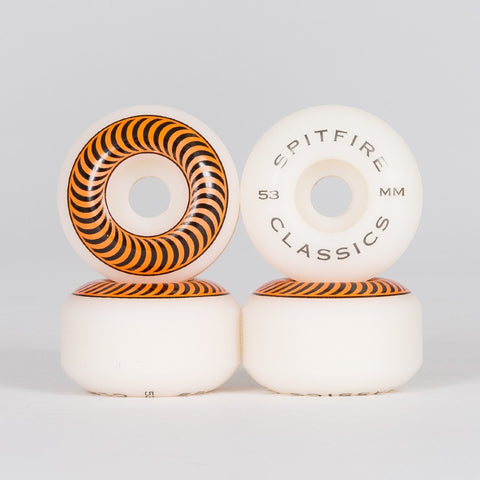 Spitfire Classic Wheels White 53mm