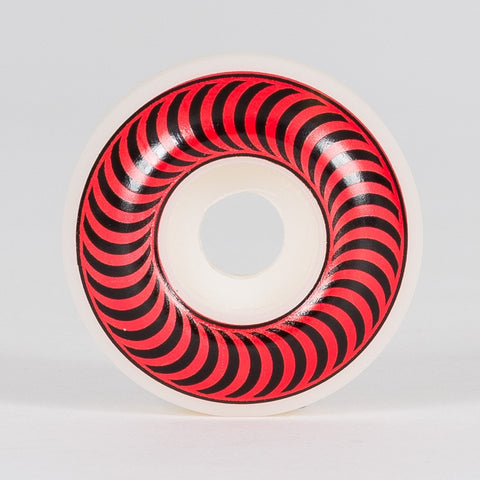 Spitfire Classic Wheels White/Red 51mm - Skateboard