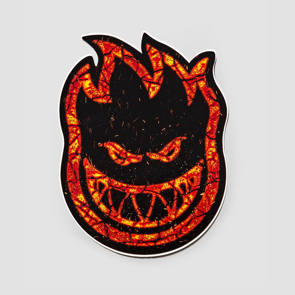 Spitfire Embers Big Head Sticker 125x95mm