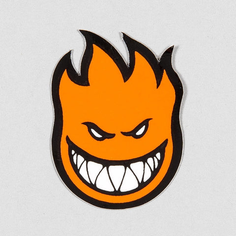 Spitfire Fireball Mini Sticker X-Small Orange 40x25mm
