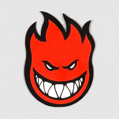 Spitfire Fireball Mini Sticker X-Small Red 40x25mm