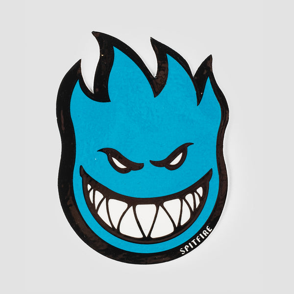 Spitfire Fireball Sticker Small Blue 75x55mm