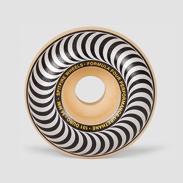 Spitfire Formula Four Classics 101du Wheels Natural/Silver 54mm - Skateboard