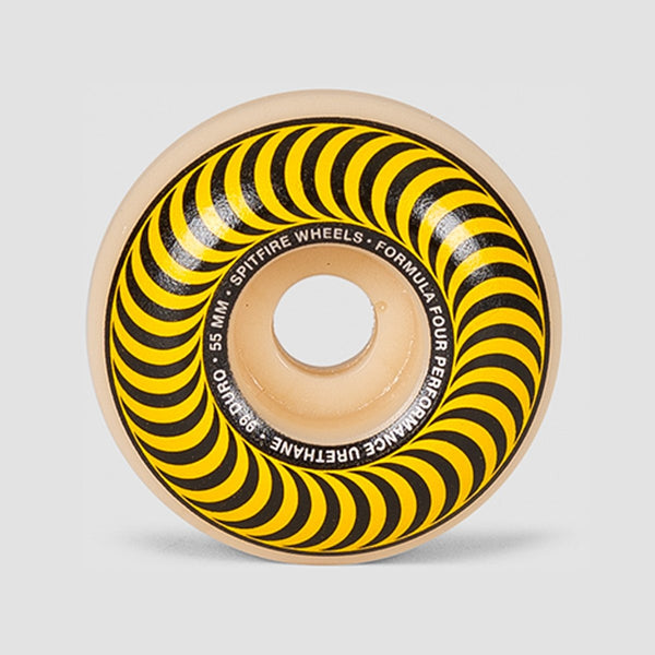 Spitfire Formula Four Classics 99du Wheels Natural/Yellow 55mm - Skateboard