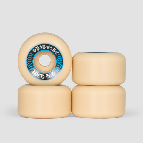 Spitfire Formula Four Lock-Ins 99a Wheels White/Blue 55mm