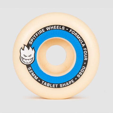Spitfire Formula Four Tablets 99DU Wheels Natural/Blue 52mm - Skateboard