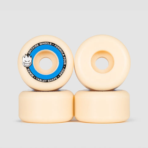 Spitfire Formula Four Tablets 99DU Wheels Natural/Blue 52mm