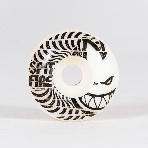 Spitfire Low Downs 99a Wheels White 52mm - Skateboard