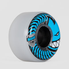 Spitfire Soft 80hd Chargers Conical Wheels Clear/Blue 54mm - Skateboard