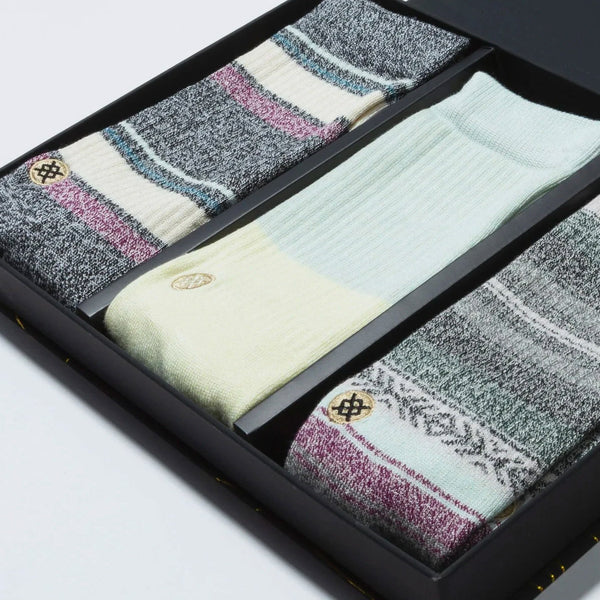 Stance Bu Bu Butter Blend Socks 3 Pack Multi