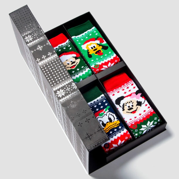 Stance Christmas Disney - Claus Socks 4 Pack Box Set Multi - Accessories
